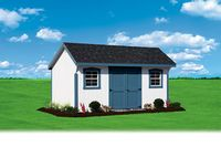 Shed - New England Quaker Shed - 10 x 16