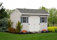 Shed - Vinyl Quaker Shed - 10 x 12