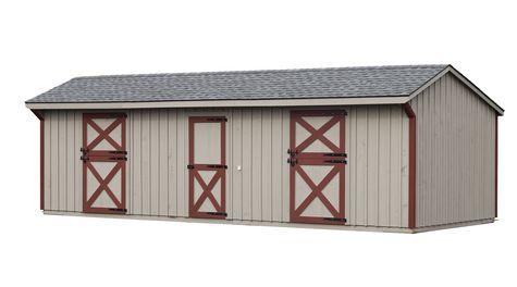 Shed Row Barns Horse Barns PreConstructed Horse Barns
