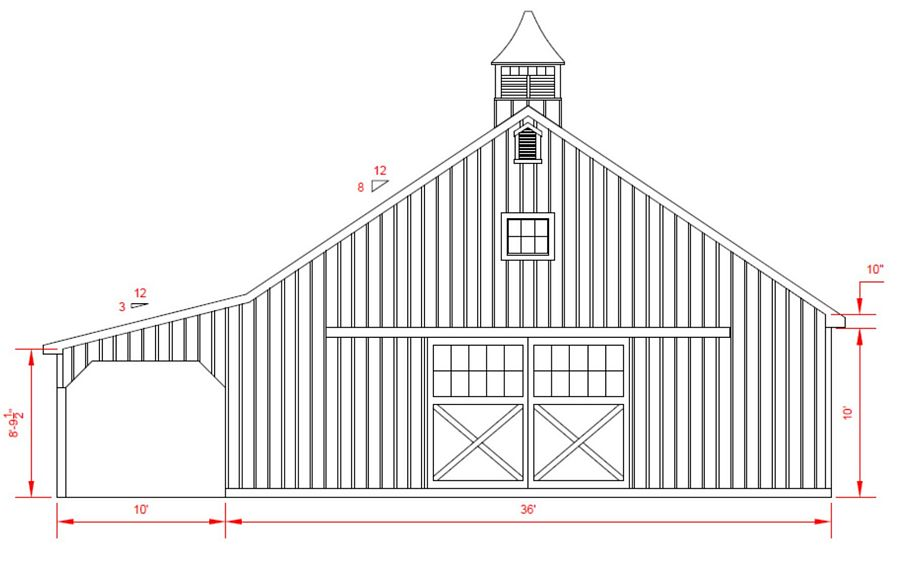 1000 images about barn on pinterest for Country barn plans