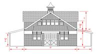 36x48 High Country - Front Elevation