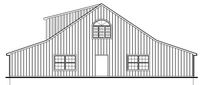60x70 High Country Retail Space - Rear Elevation