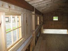 Monitor Barn - Loft View in Monitor Barn - 36 x 36