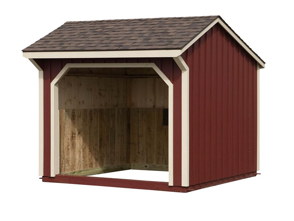 Run In Sheds Amish Crafted Run In Sheds Custom Run In