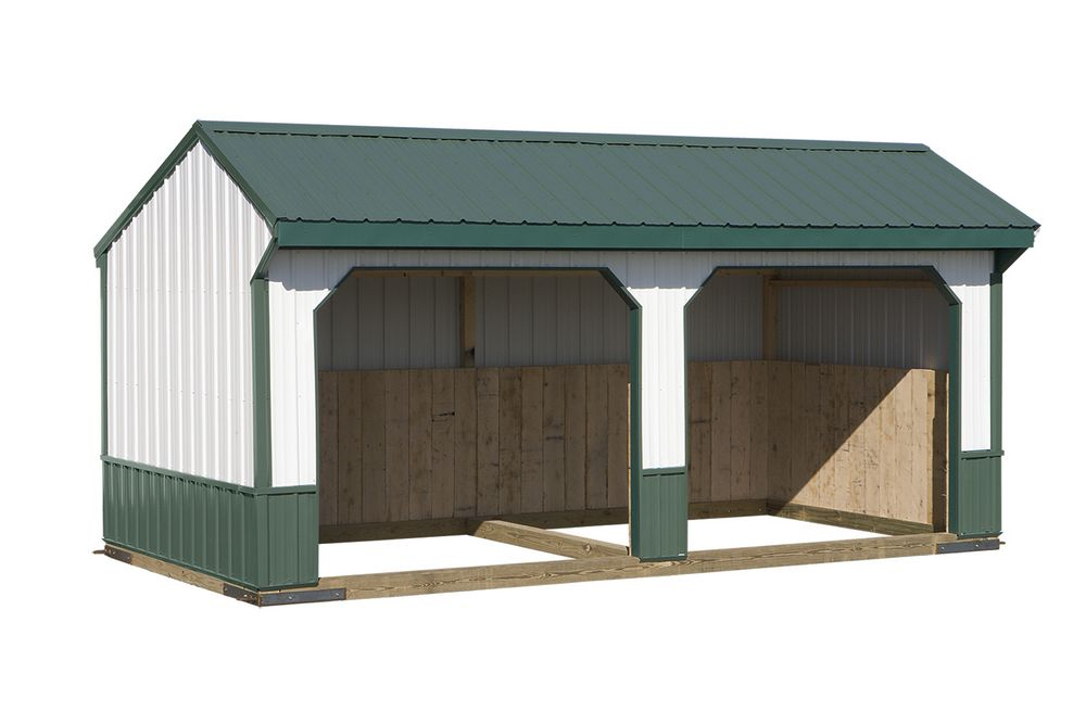 Run in sheds amish crafted run in sheds custom run in sheds Horse run in shed plans design
