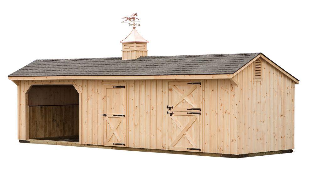 Shed Row Barn