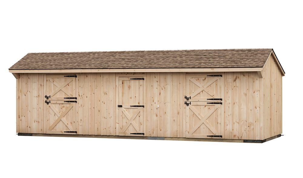Shed row barns horse barns pre constructed horse barns