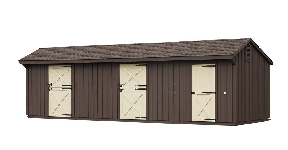 Shed Row Barns | Horse Barns | Pre-Constructed Horse Barns