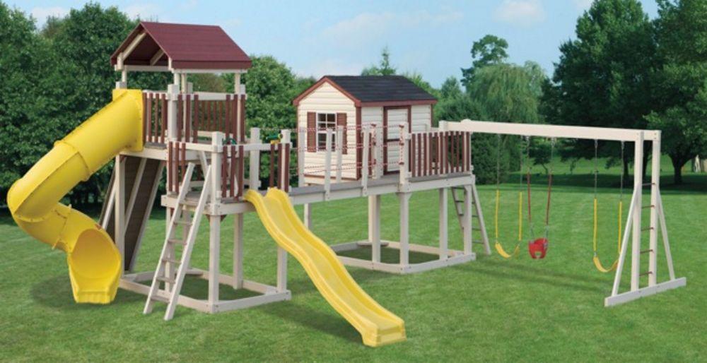 Swinging Playground Equipment : Playground equipment swing sets high quality