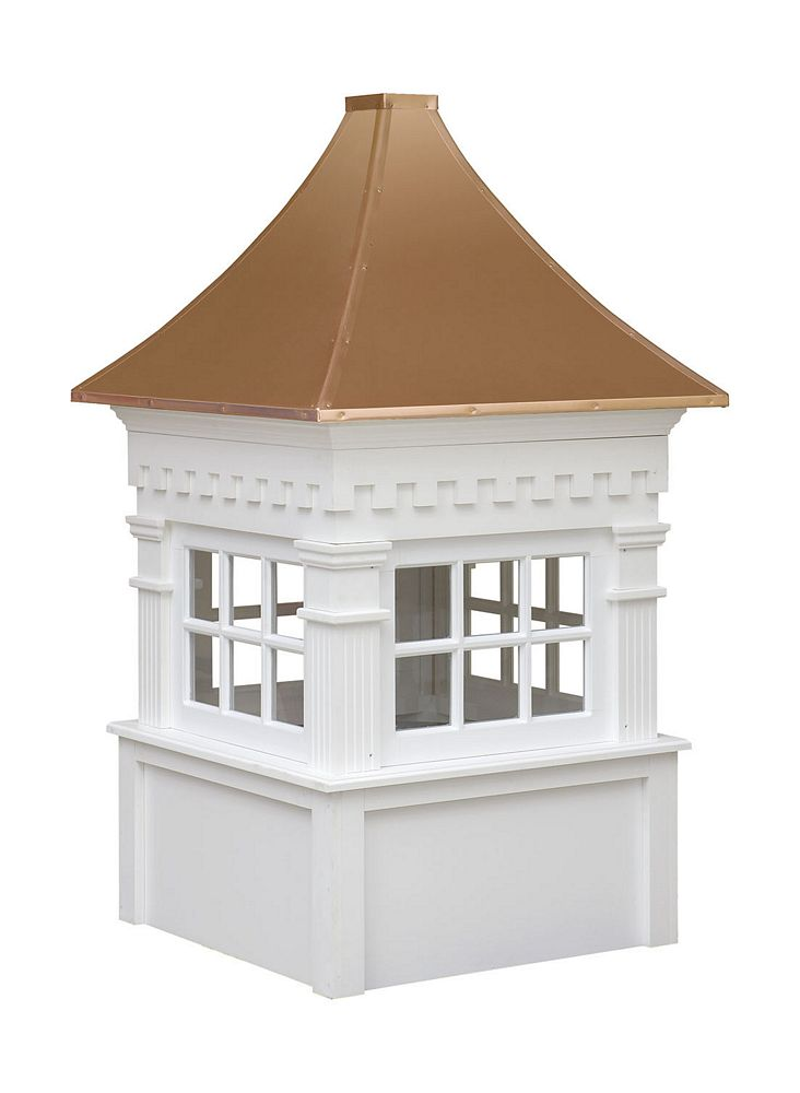 Cupolas plans free example for Roof cupola plans