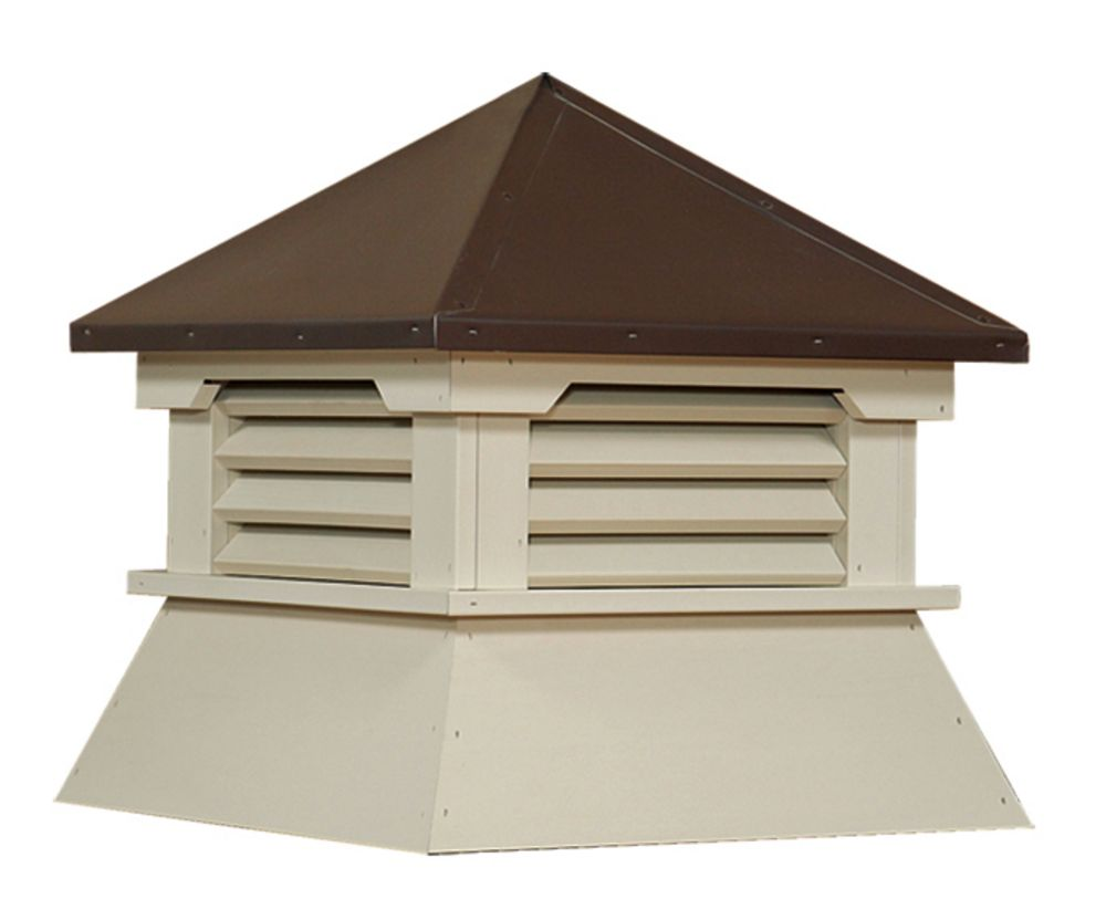 Shed Series Cupola Ivory Vinyl Custom Barns And