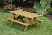 Outdoor Furniture - Wood 4' Childs Picnic Table