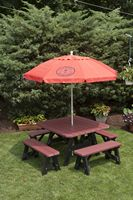 Outdoor Furniture - 4'x4' 5 Piece Poly Table