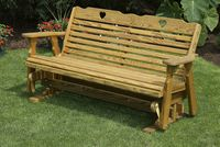 Outdoor Furniture - Wood 5' Glider