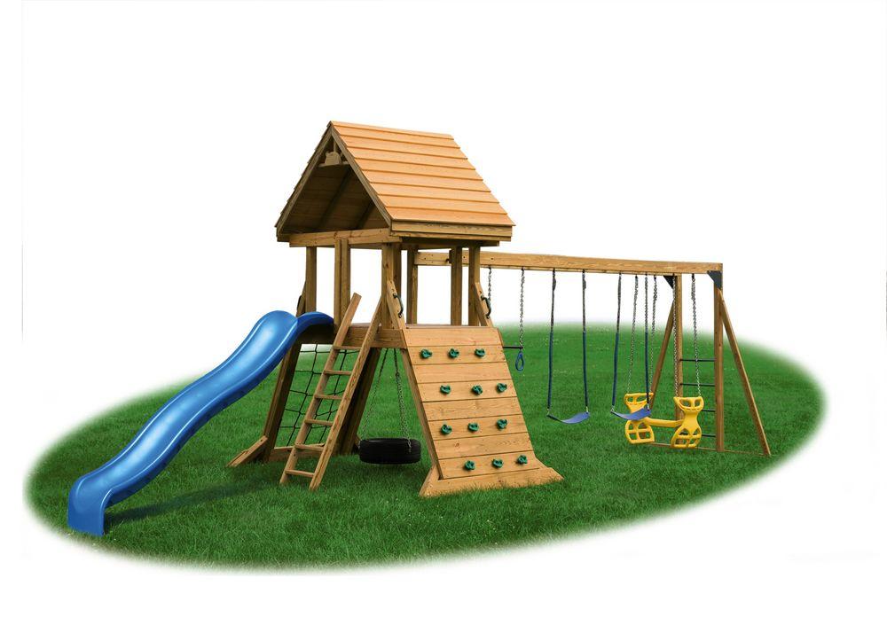 Eagle Playground Equipment Cliff Climb