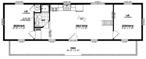Traditional Plan 1000 Square Feet 2 Bedrooms 2 Bathrooms together with Home Plans 500 Square Feet furthermore Cape Cod Plans likewise 28x36 Frontier Certified Floor Plan 28fr601 in addition 40 X 20 House Plans. on cape cod carriage houses