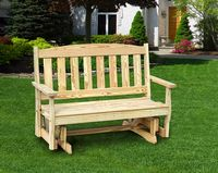 Outdoor Furniture - Wood English Garden 4' Glider
