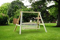 Outdoor Furniture - Wood 5' English Garden Hanging Swing