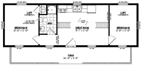 Cape Cod Floor Plan #13CA705