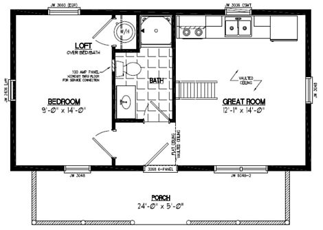 Cape Cod Floor Plan #15CA702
