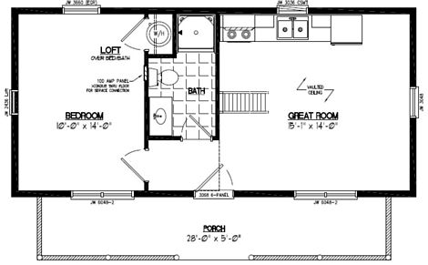 Cape Cod Floor Plan #15CA703