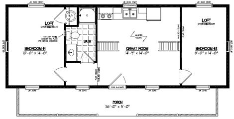 Cape Cod Floor Plan #15CA705
