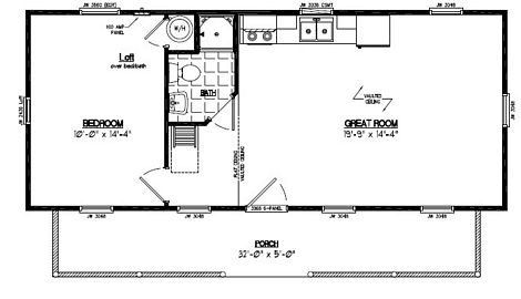 Recreational Cabins Recreational Cabin Floor Plans