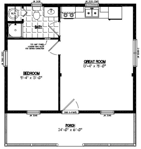 Lincoln Floor Plan #26LN901