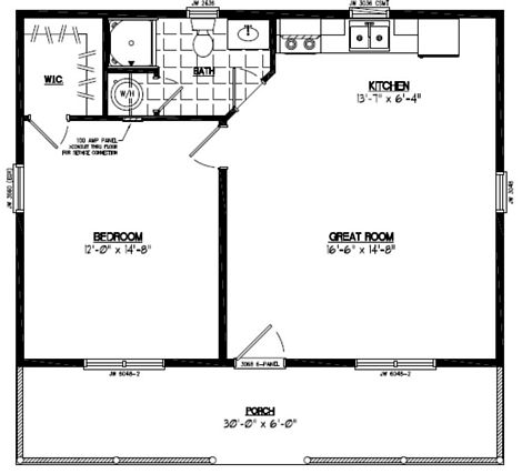 Lincoln Floor Plan #28LN902