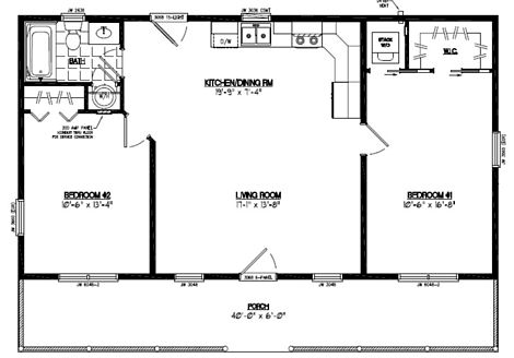 Lincoln Floor Plan #28LN904