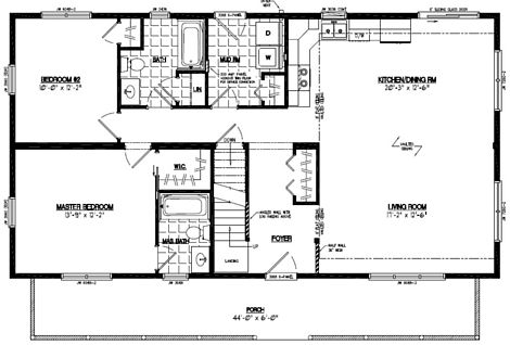 Mountaineer Deluxe Floor Plan #26MD1405