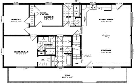 Mountaineer Deluxe Floor Plan #26MD1407