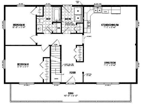 Mountaineer Floor Plan #26MR1304