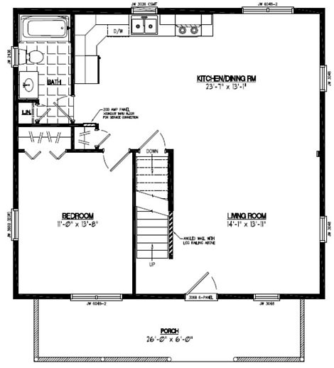 Mountaineer Floor Plan #28MR1301