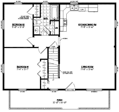 Mountaineer Floor Plan #28MR1302