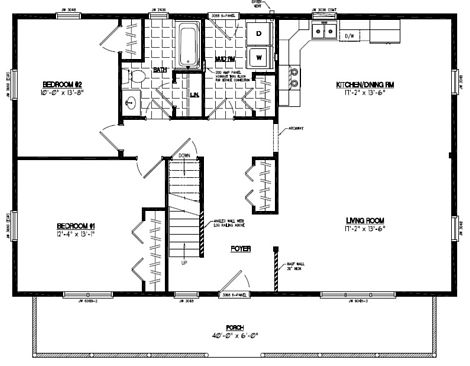 Mountaineer Floor Plan #28MR1304