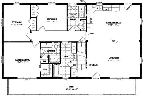 Mountaineer Floor Plan #28MR1307