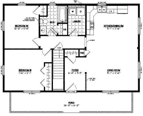 Musketeer Floor Plan #26MK1503
