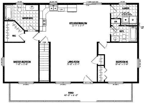 Musketeer Floor Plan #26MK1504