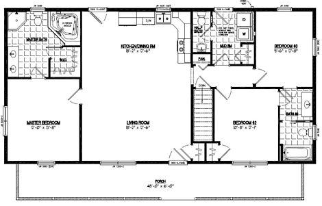 Musketeer Floor Plan #26MK1507
