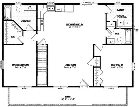 Musketeer Floor Plan #28MK1504