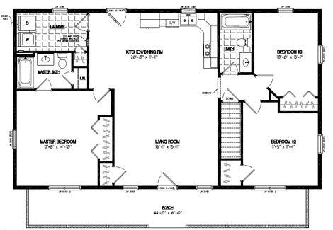 Musketeer Floor Plan #28MK1505