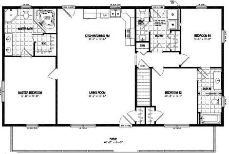 Musketeer Floor Plan #28MK1507
