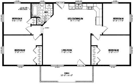 Pioneer Floor Plan #24PR1204