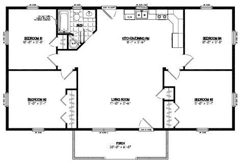 Pioneer Floor Plan #26PR1204