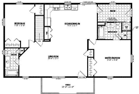 Pioneer Floor Plan #28PR1205