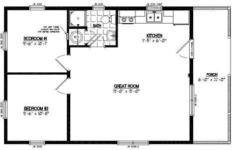 Settler Floor Plan #22SR501