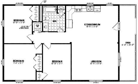 Certified homes settler certified home floor plans for 28x48 house plans