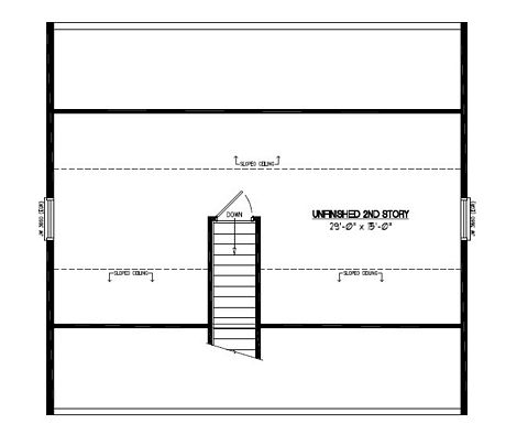 Certified Floor Plan - Mountaineer Certified Floor Plan Upstairs - 28 x 30 - #28MR1301