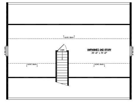 Certified Floor Plan - Mountaineer Certified Floor Plan Upstairs - 28 x 36 - #28MR1302